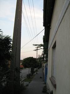 400 Voltos utcai vezeték