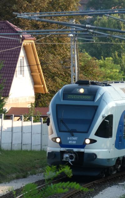 Vasúti vezeték sugárzása